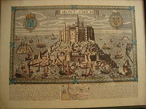300px-Le_Mont_St__Michel,_Normandy,_France__View,_bilingual_description_and_map